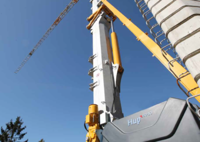 potain 40-30 self erecing tower crane